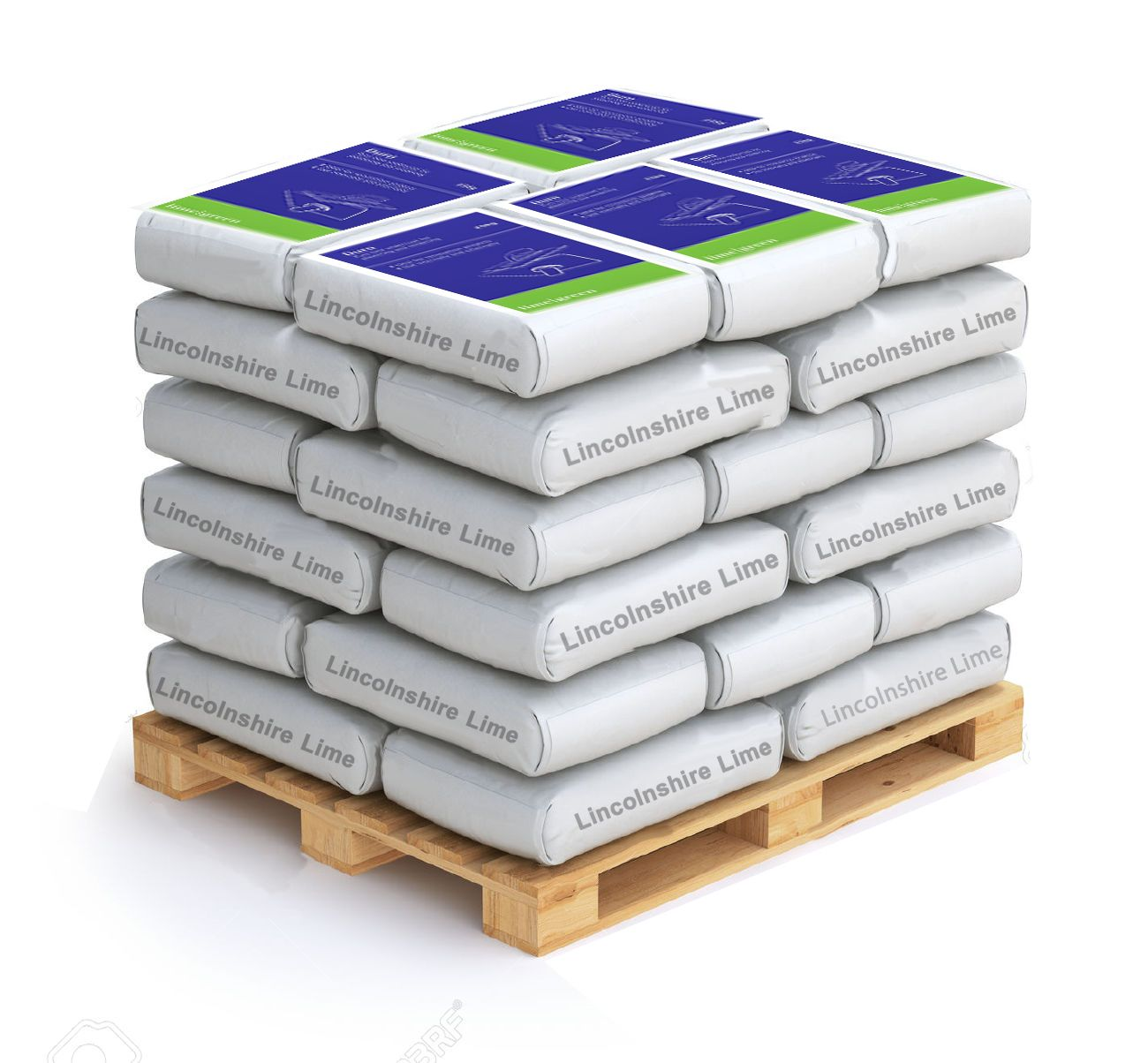 Lime Green Duro (Basecoat Plaster/Render) - 40 Bags on Pallet 1 Ton
