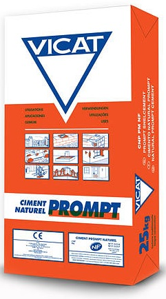 Buy Vicat Prompt Natural Cement 25kg