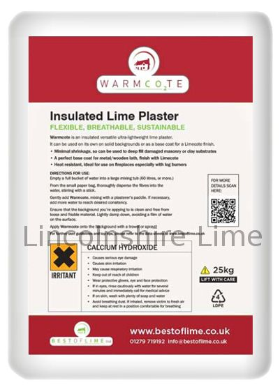 warmcote warmcoat insulating lime plaster